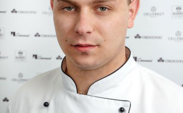 Lukasz Aniol, candidat Polonais des World Chocolate Masters.
