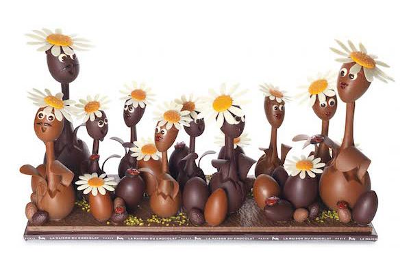 Un air de Pâques : le chocolat ouvre le bal du printemps en poésie et facéties