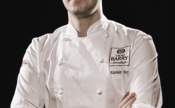Alistair Birt, le chocolatier qui a représenté l'Angleterre aux World Chocolate Masters.