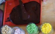 Réaliser une tablette de chocolat pour enfants©ChocoClic.com