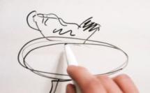 Le montage d'une poule délurée sur un gros œuf©ChocoClic.com