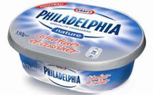 Kraft Foods lance le célèbre Philadelphia en France