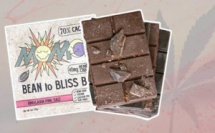 chocolat végétalien au CBD