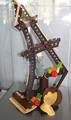 Ratatouille et sa tour Eiffel en chocolat