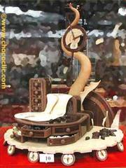 Pièce artistique en chocolat n18
