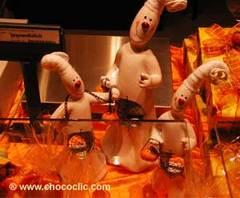 Pièce artistique en chocolat SDC04