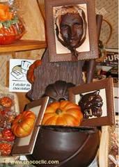 Pièce artistique en chocolat SDC11