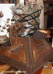 Pièce artistique en chocolat SDC16