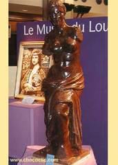 Vénus de Milo en chocolat