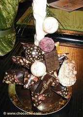 Pièce artistique en chocolat SDC21