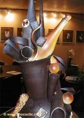 Pièce artistique en chocolat SDC24