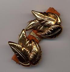 Boucles d'oreilles en or fin cabosse n7