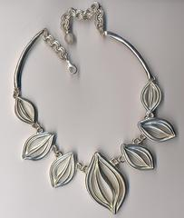 Collier argent cabosses n1