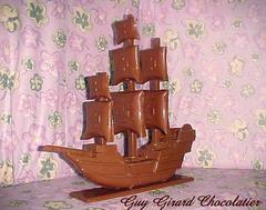 Guy Girard Chocolatier Bateau à voile