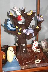Alice au pays des merveilles en chocolat
