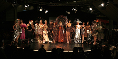 Final du défilé - Défilé du 13ème Salon du Chocolat 2007