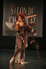 Mia Frye au Défilé du 13ème Salon du Chocolat 2007