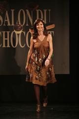 Caroline Barclay au Défilé du 13ème Salon du Chocolat 2007