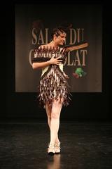 Agathe de la Boulay au défilé du 13ème Salon du Chocolat 2007