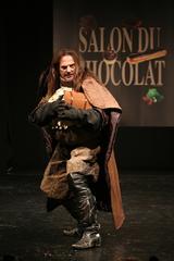 Francis Lalanne au défilé du salon du chocolat