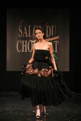 Clémence Castel au Défilé du 13ème Salon du Chocolat 2007