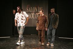 Christian Karembeu au Défilé du 13ème Salon du Chocolat 2007