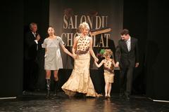 La recette gourmande - Défilé du 13ème Salon du Chocolat 2007