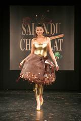 Jovanka Sopalovic au défilé du salon du chocolat