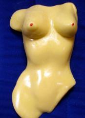 Bustier de femme nu
