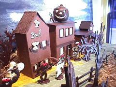 Vitrine d'Halloween