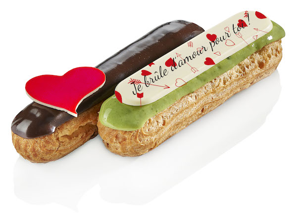 Eclairs St Valentin - Pascal Caffet© Franck Kauff
