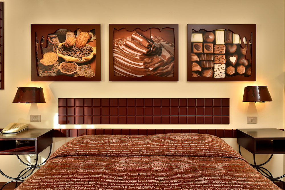 Choc Your Room1 Etruscan-Chocohotel Perugia©